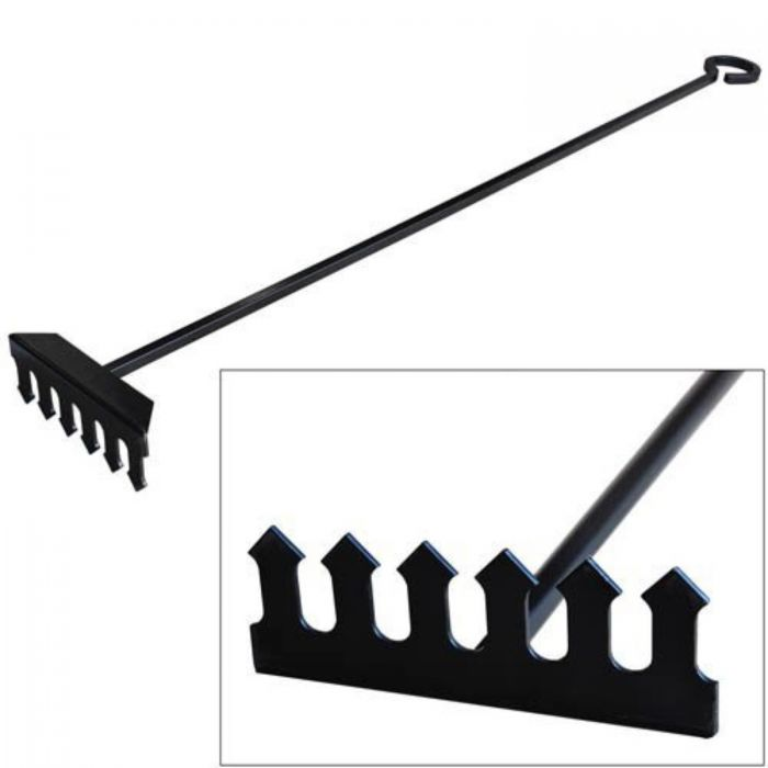 AW Perkins 300 The POE Wood Stove Rake Large