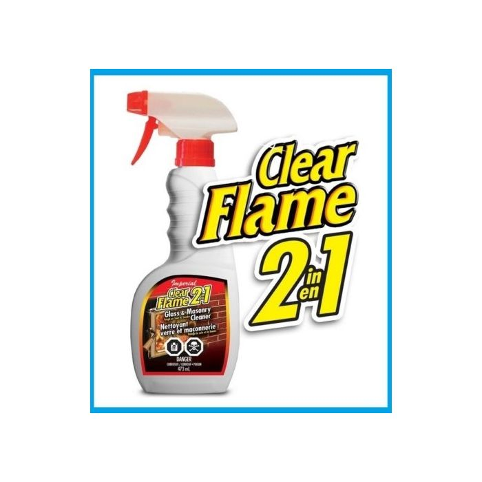 Imperial GFC Glass & Masonry Cleaner - Soot Smoke Remover 22 oz