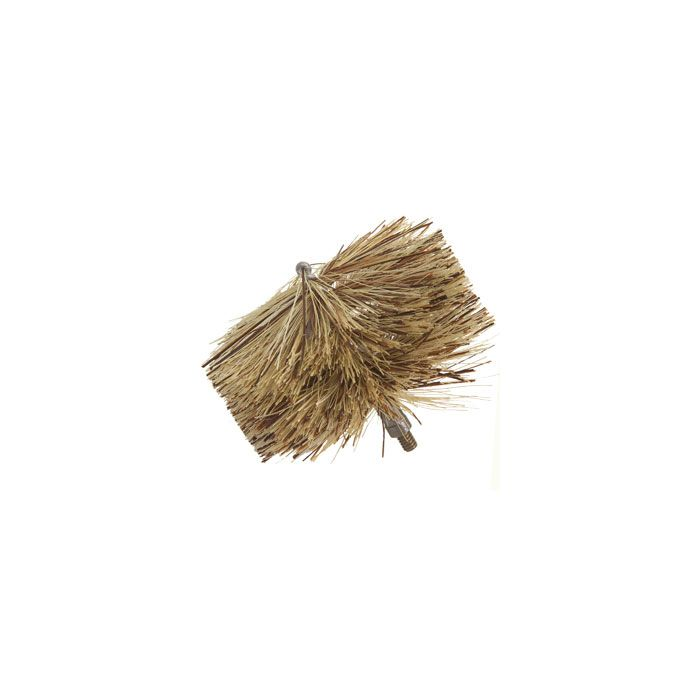 Stove brush for wood, pellet, coal flues